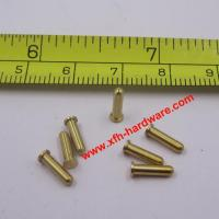 Buy cheap brass dowel pin from wholesalers