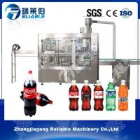 Buy cheap Latest China Carbonated Drink Soda Water Filler 3 In 1 Bottling Equipment For Sale from wholesalers
