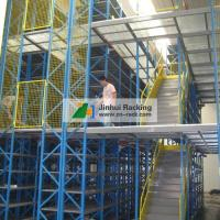 Buy cheap Supply of Heavy Duty Steel Structure Mezzanine Floor with Multi Layer Racking from wholesalers