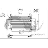Buy cheap Condenser KIA 232 PRIDE from wholesalers
