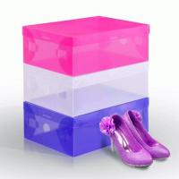 Buy cheap PP Shoes Plastic Box Custom Clear Transparent Plastic Box Packaging Gift Shoe Soxes from wholesalers