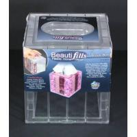 Buy cheap Beauti-Fills Acrylic Tissue Box Cover Holder Fillable YOUR Own Custom Design from wholesalers