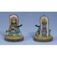 Buy cheap Ertl Collectibles Indian CHIEF SITTING CAT Hall of Fame Figurine Statue 252 NEW product