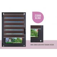 Buy cheap PVC Blinds(25mm/50mm) Mini Zebra Blind With Tension System from wholesalers