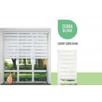 Buy cheap PVC Blinds(25mm/50mm) Luxury Zebra Blind from wholesalers