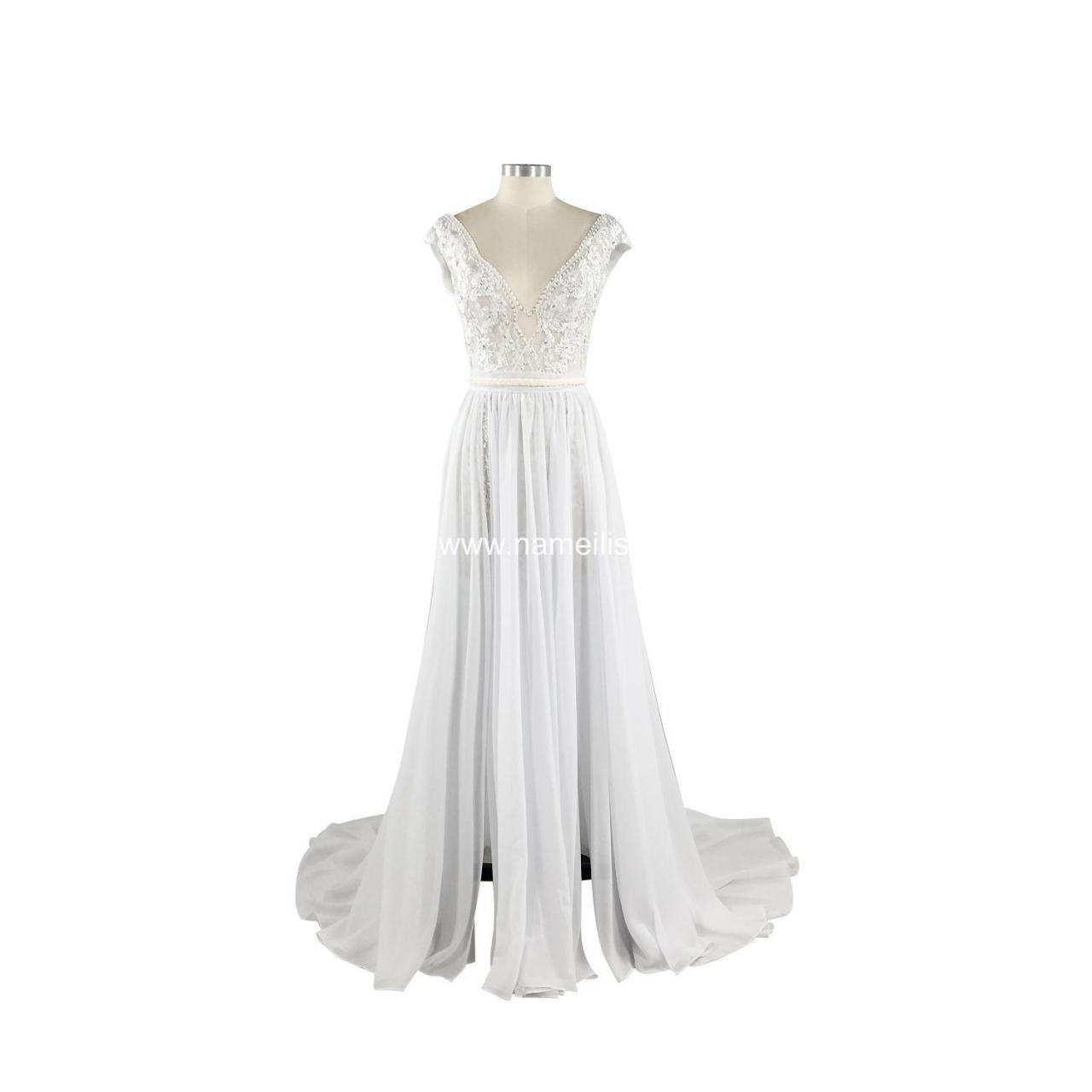Buy cheap A-Line Wedding Dress (10) SKU: L5107 - In Stock from wholesalers