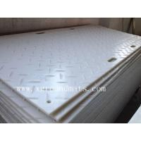 Buy cheap Antislip black HDPE ground protection mat from wholesalers
