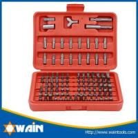 Buy cheap Hammers & Axe 100-pieces Security Tamper Proof Bit Set from wholesalers