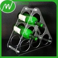Buy cheap Plastic Gear Triangle Design Plastic Wine Bottle Holder from wholesalers