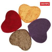 Buy cheap Heart Microfiber Chenille Coral Mat (XQH-D018) from wholesalers