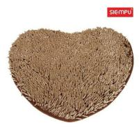 Buy cheap Heart Microfiber Chenille Long Coral Mat (XQH-D017) from wholesalers