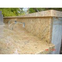 Buy cheap Kashmir (Cashmere) Gold Granite Composite Countertops and Kitchen Worktops from wholesalers