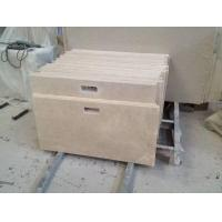 Buy cheap Cream Beige Marble Prefab Light Marble Countertops with Backsplash and Edges Options Care from wholesalers