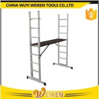 Buy cheap 8 step folding aluminum scaffolding ladder from Wholesalers