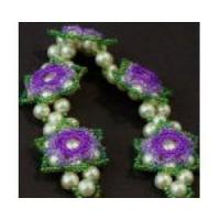 Buy cheap 3-D Flower Pendant or Bracelet by The Bead Doodler from wholesalers