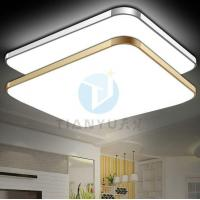 Buy cheap LED Module Hot Sale Square Phone Design Silver Golden Led Ceiling Light Fixtures from wholesalers