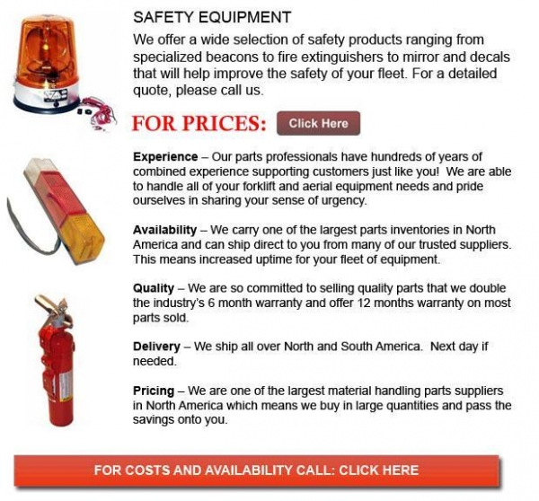 Buy cheap Forklift Safety Equipment from wholesalers