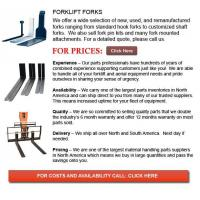 Buy cheap Forklift Fork product