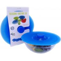 Buy cheap Food Grade Airtight Reusable Flexible Suction custom Silicone Lid from wholesalers