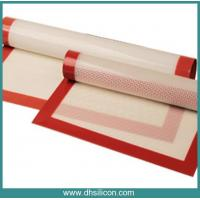 Buy cheap Custom wholesale non-stick fiberglass silicone baking mat/ Softextile silicon baking mat from wholesalers