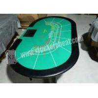 Buy cheap Luxury Texas Holdem Poker Card Games Casino Gaming Baccarat Table from wholesalers