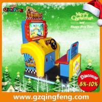 Buy cheap Qingfeng Christmas hot sale kids crazy go karts car racing lottery game machine from wholesalers