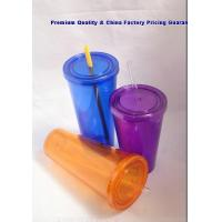 Buy cheap TOP100-018China Custom Double Wall Plastic Tumblers 22oz from wholesalers