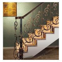 Steel fence Wrought Iron Hand Forged Steel Railing SY-Rl-M910