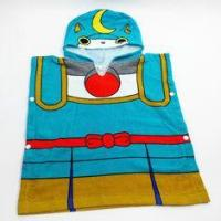 Buy cheap Blue Children Hooded Beach Towels / Baby Bath Towels For Swimming from wholesalers