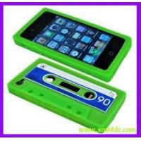 Buy cheap Silicone Cover for Phone and IPAD HF-Green -for iPhone 4/4s Silicone Cassette Tape Case-8 from wholesalers