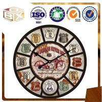 Buy cheap MDF home decoration wall clock from wholesalers