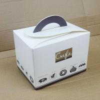 Buy cheap Birthday Cake Boxe/ Bakery Boxes Packaging, Custom Cardboard Small Cake Boxes UK With Handle from wholesalers
