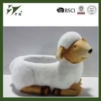 Buy cheap Outdoor Sheep Shaped Ceramic Flower Pot Wholesale from wholesalers