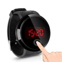 Buy cheap digital led display water resistant silicone wrist watch with wholesale price from wholesalers