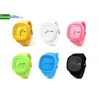 Buy cheap Silicone or plastic watches jelly watch silicone for advertising promotional wrist watch from wholesalers
