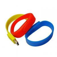 Buy cheap usb silicon wristband 4gb , promotional bracelet usb from wholesalers