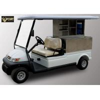 Buy cheap Trojan Battery 2 Seater Utility Golf Cart , Club Car Electric Golf Cart Eco Friendly from wholesalers