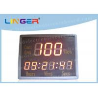 Buy cheap 8'' 200mm Digital Countdown Clock , Portable Shot Clock IR Remote 12kgs from wholesalers