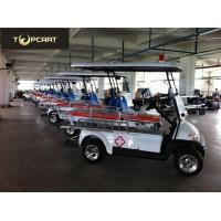 Buy cheap Flexible 48 V Custom Electric Golf Carts 2 Seater With Stretcher For Injury from wholesalers