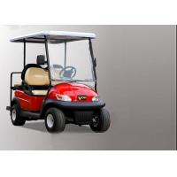 Buy cheap Club Four Seater Golf Cart , Battery Powered Golf Cart With Aluminum Alloy Beam from wholesalers