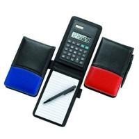 Calculators 1063 Notepad with Calculator and Pen