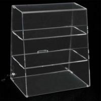 Buy cheap Slanted Acrylic Pastry Locking Display Case from wholesalers