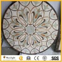 Buy cheap Culture Stone Water Jet Marble Designs, Waterjet Marble Medallion from wholesalers