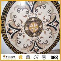 Buy cheap Culture Stone Round Flower Marble Stone Waterjet/Medallion Pattern Inlay f from wholesalers