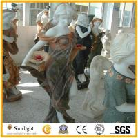 Buy cheap Culture Stone Marble Sculpture Statue Carved Stone Carving for Garden Deco from wholesalers