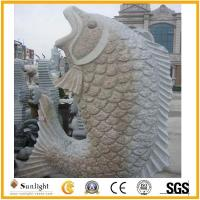 Culture Stone Carved Marble Sculpture Garden Statue Stone Carving with Gra