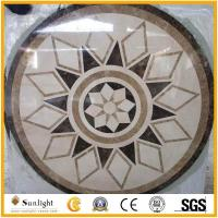 Buy cheap Culture Stone Waterjet marble floor medallion pattern from wholesalers