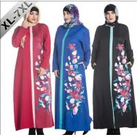 Buy cheap Ethnic Fashion Abaya Dress For Big Women from wholesalers