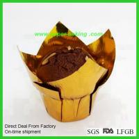Buy cheap Paper Tulip Cups Flower Cupcakes Wrappers from wholesalers