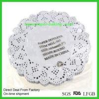 Buy cheap Black Decorative Lace Cupcake Muffin Wrappers product